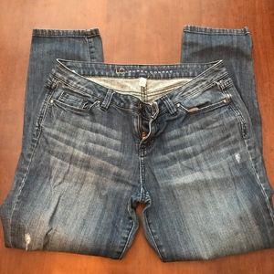 Lauren Conrad size 6 Capri jeans